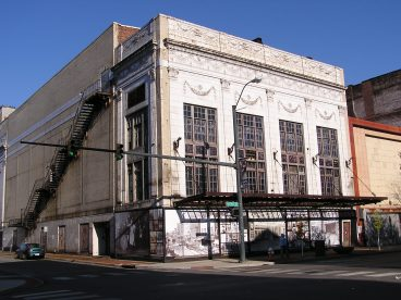 The Paramount Theater building on West Federal Street. Electronic image by Ron Flaviano for Metro Monthly.