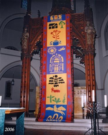 St Patrick main altar 2006