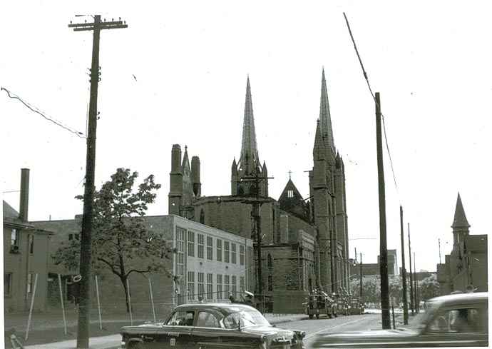 Photo Album Fire Destroys St Columba Cathedral In 1954