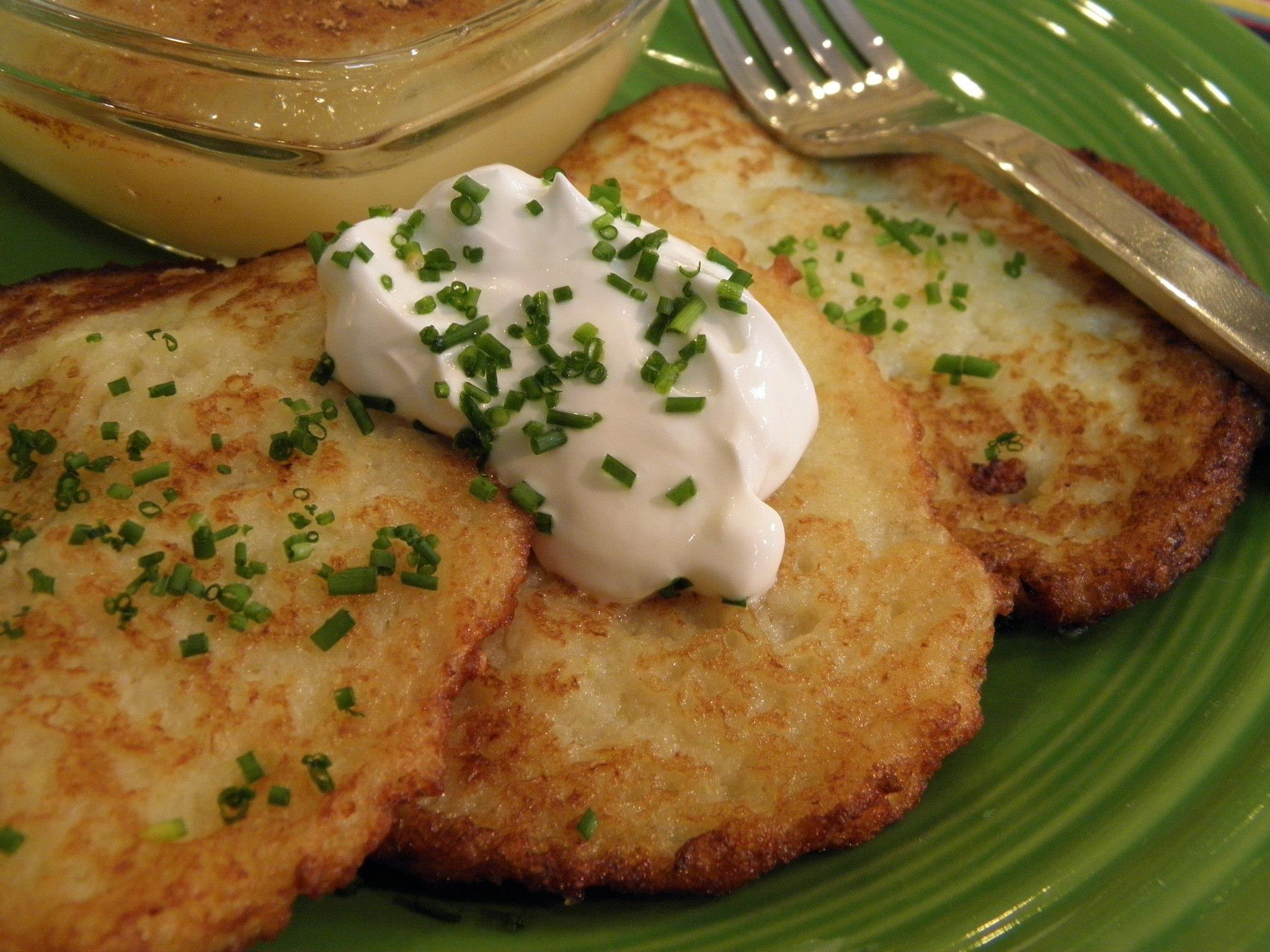 Homeplate: Helga Wengler's Potato Pancakes (Kartoffelpuffer)