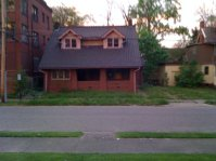 Vacant bungalow in the Wick Park Historic District