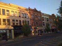 N. Park Avenue commercial buildings