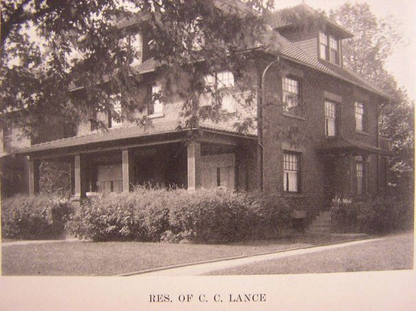 C.C. Lance House on Michigan, south of Wick Park