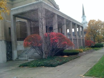 Rodef Sholom and First Unitarian Church on Wick Park