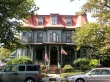 Late 19th century inn painted in period colors, Cape May, N.J.