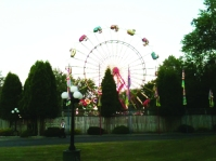 Ferris Wheel at Conneaut Lake Park. By Ron Flaviano.