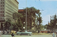 Central Square, looking north, Youngstown (undated).