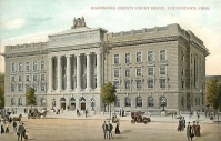 Mahoning County Courthouse rendering, Market Street, Youngstown