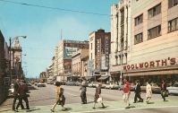 West Federal, looking northwest, Youngstown (circa 1965).