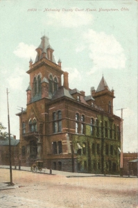 Mahoning County Courthouse, circa 1890