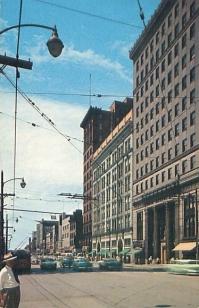 West Federal Street, circa 1955