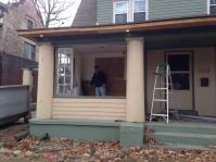 Removing a porch enclosure