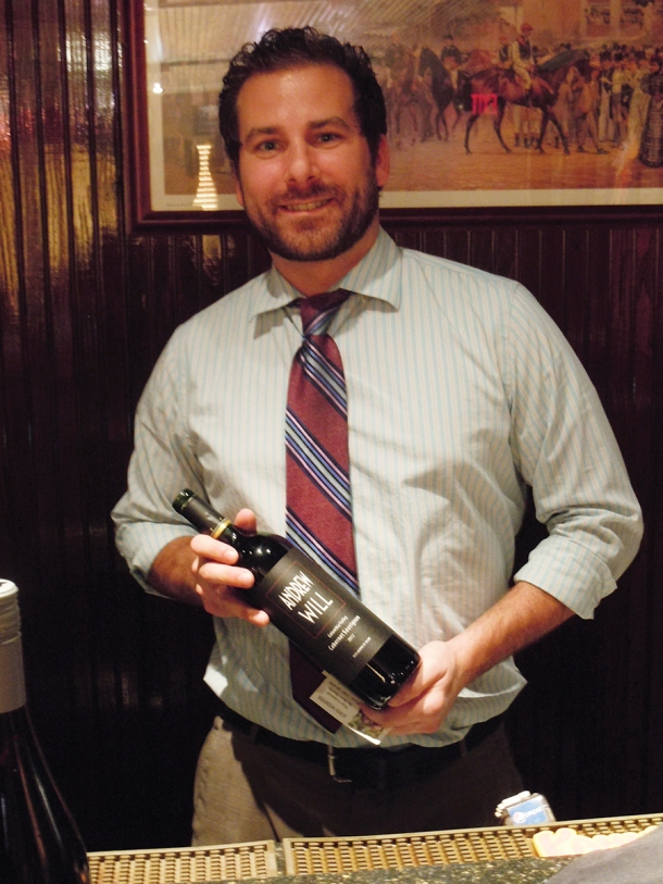 Bob Sanata is the new wine director at Springfield Grille in Boardman. Electronic image by John Webster.