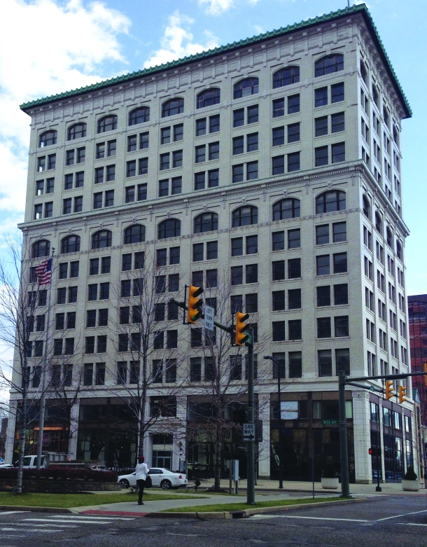 The Stambaugh Building in downtown Youngstown