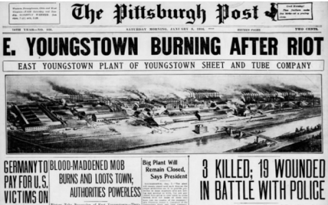 1916 East Youngstown strike